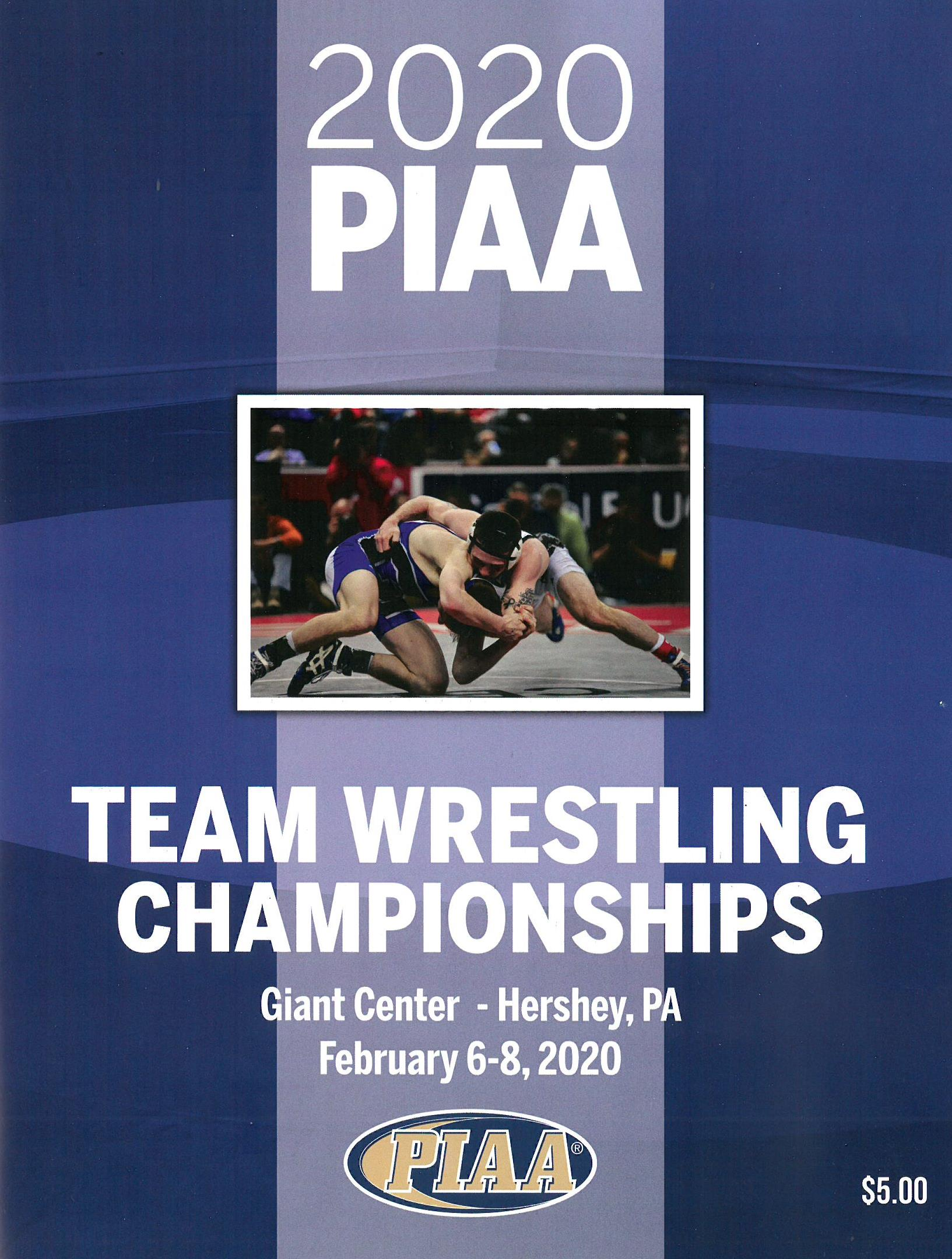2018 Team Wrestling Championship Program